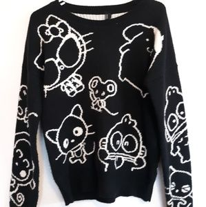 Forever 21 sanrio time capsule knit sweater